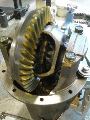 Axle Rebuilding Procedure