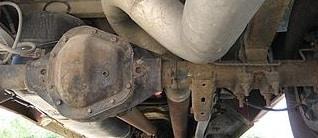 Dana 70 U Differential in a Dodge Ram 3500 1 Ton
